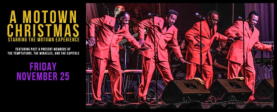 Motown Christmas Music.Charleston Music Hall A Motown Christmas November 25th