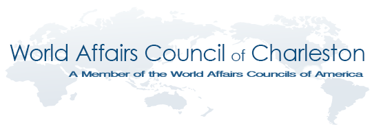 World Affairs Council of Charleston logo SAVE