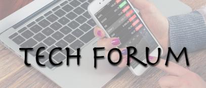 Tech forum banner SAVE