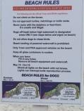 Beach Rules photo--LC