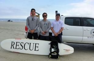 Left to Right - Matthiew Leo; Noah Butler, Senior Supervisor; Rob Edgerton, co-owner