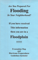 Cover of Are You Prepared for Flooding brochure June 2018
