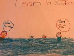 Learn to swim 4 Jun 2018