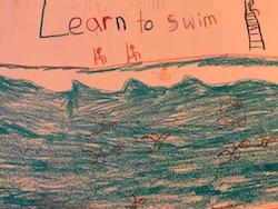 Learn to swim 7 Jun 2018
