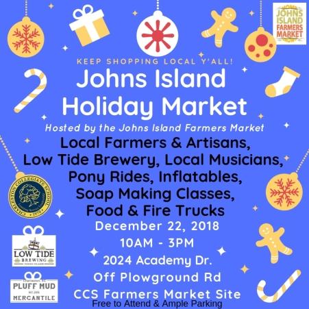 JI Holiday Market Social Media