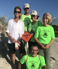 Turtle Patrol nest 8 May 2019