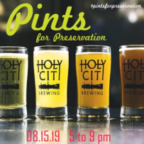 Drayton Hall Pints for Preservation August 2019