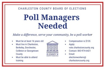 Charleston County Board of Elections flyer - jpeg format