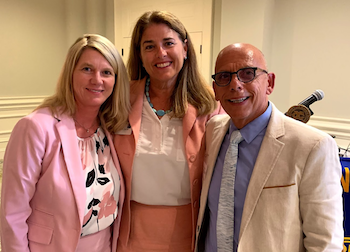 Dr Mintzer Exchange Club Aug 2019