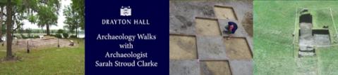 Drayton Hall Archaeology Walks Oct 2019
