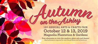 Magnolia Plantation autumn on ashley Oct 2019