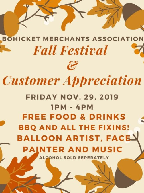 Bohicket Fall Fest Nov 2019