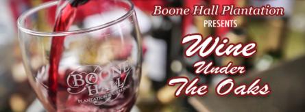 Boon Hall Wine Under Oaks Dec 2019