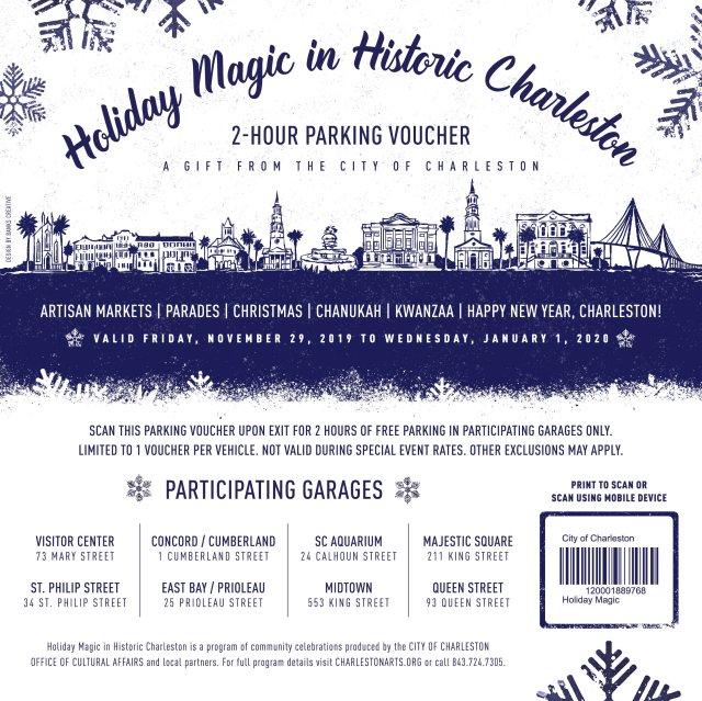 City Garage Parking Pass Dec 2019