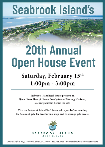 SIC Open House Feb. 15, 2020 poster