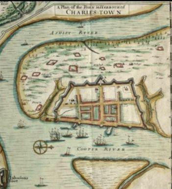 Map of Charleston